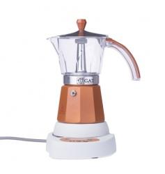 Kawiarka elektryczna G.A.T. Vintage 6tz - Brązowa