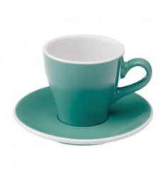 Loveramics Tulip - Filiżanka i spodek Cappuccino 180 ml - Teal