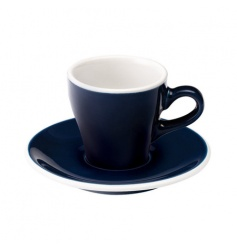 Loveramics Tulip - Filiżanka i spodek Espresso 80 ml - Denim