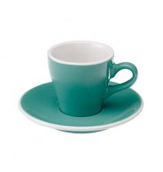 Loveramics Tulip - Filiżanka i spodek Espresso 80 ml - Teal