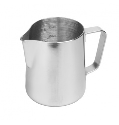 Rhinowares Stainless Steel Pro Pitcher - dzbanek srebrny 360 ml
