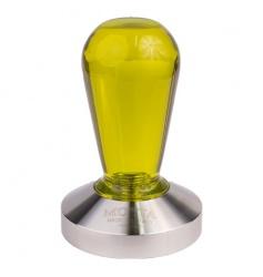 Tamper Motta żółty - 58 mm - Tworzywo sztuczne