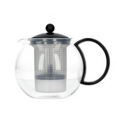 Bodum Assam - Zaparzacz do herbaty z plastikowym filtrem 1l - Czarny