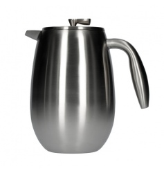 Bodum Columbia French Press 8 cup - 1l - Matowy Chrom