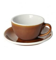 Loveramics Egg - Filiżanka i spodek Cappuccino 200 ml - Caramel