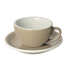 Loveramics Egg - Filiżanka i spodek Cappuccino 200 ml - Taupe
