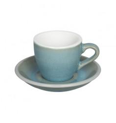 Loveramics Egg - Filiżanka i spodek Espresso 80 ml - Ice Blue