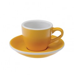 Loveramics Egg - Filiżanka i spodek Espresso 80 ml - Yellow