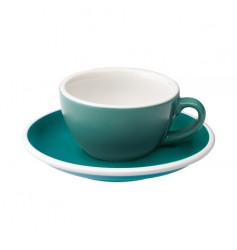 Loveramics Egg - Filiżanka i spodek Flat White 150 ml - Teal