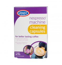 Urnex - Kapsułki do czyszczenia ekspresów Nespresso - 5 sztuk