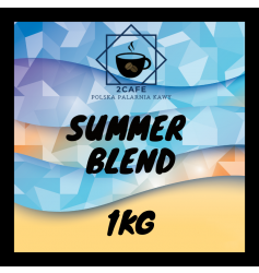 Kawa  Summer Blend 1kg - mielona