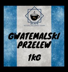 Kawa Gwatemalski Przelew 1kg- mielona