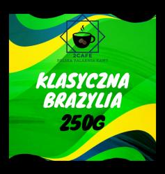 Kawa Klasyczna Brazylia Espresso 250g - mielona