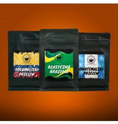 Kawa Jesienny Zestaw Przelewowy 3x150g - ziarno