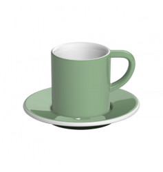 Loveramics Bond - Filiżanka i spodek Espresso 80 ml - Mint