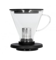 Barista & Co - BrewThru Coffee and Tea Maker Black - Dripper