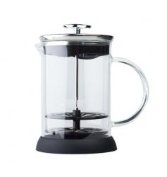 Bialetti Cappuccinatore Vetro 3tz - ręczny spieniacz do mleka 330ml