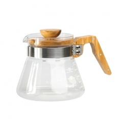Hario Coffee Server 600ml - Olive Wood - New