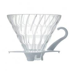 Hario szklany Drip  V60-02 - Biały
