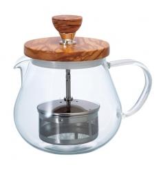 Hario Teaor - Dzbanek do herbaty - Olive Wood - 450ml